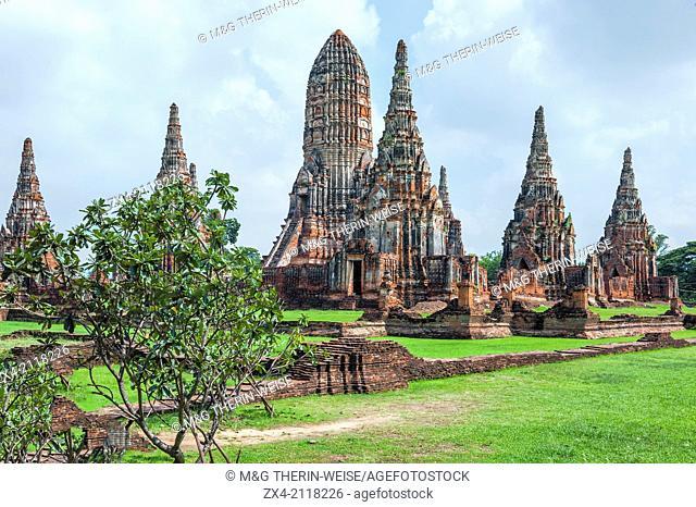 Wat Chaiwatthanaram temple, Ayutthaya, Thailand, Unesco World Heritage Site