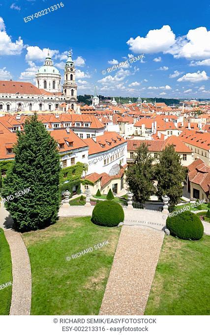 Vrtbovska Garden, Prague, Czech Republic