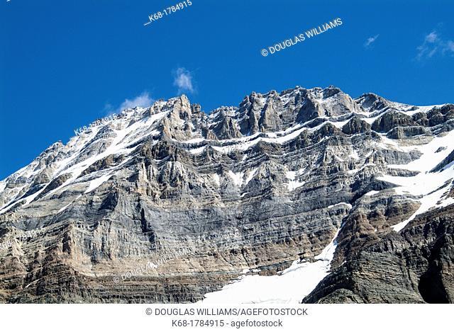 mountain near Lake O'Hara, British Columbia, Canada