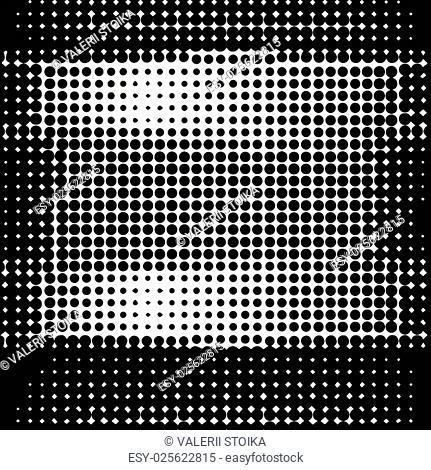 Halftone Pattern. Halftone Dots. Dots on White Background. Halftone Texture. Halftone Dots. Halftone Effect
