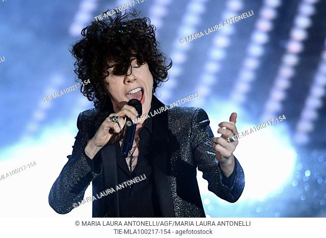 LP ( Laura Pergolizzi ) during the 67th Sanremo Music Festival, Sanremo, ITALY-09-02-2017