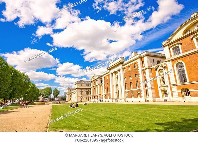 Old Royal Naval College, Greenwich University, London, UK