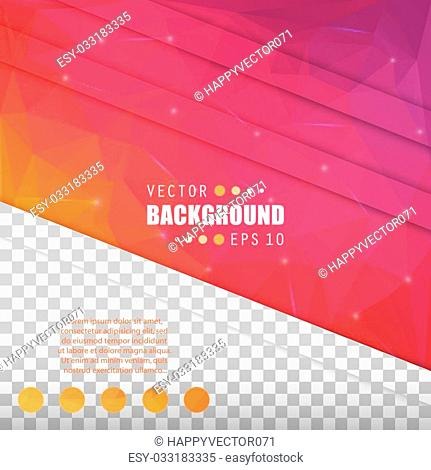 Abstract Creative concept vector booklet list for Web and Mobile Applications, art template design, business infographic card, color page, brochure leaf