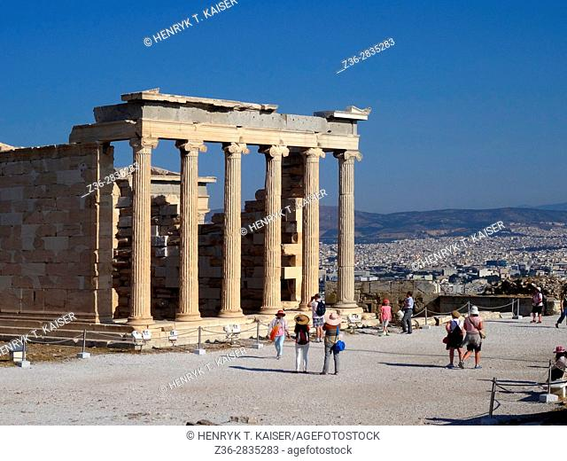 Greece, Athens, Acropolis, Erechtheion