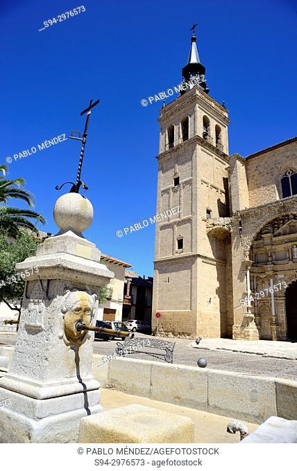 Collegiate church of Santisimo Sacramento of Torrijos, Toledo, Spain