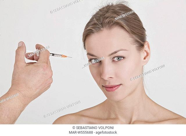injection of botulinum