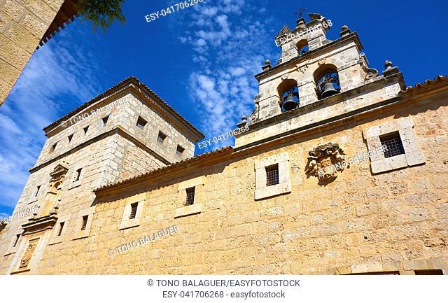 El Toboso Trinitarias convent in Toledo of La Mancha Spain