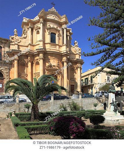 Italy, Sicily, Noto, San Domenico Church,