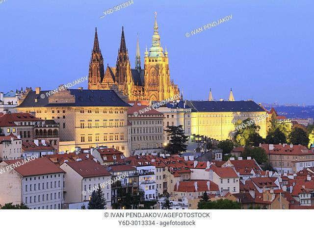 Prague at Dusk, Czech Republic