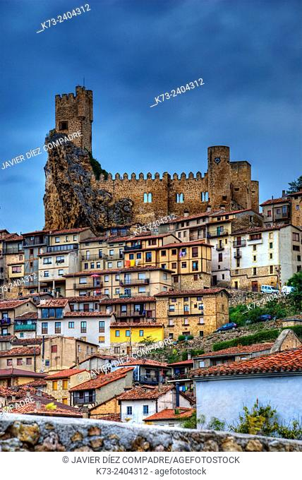 Castle. Frías. Burgos province. Castilla y Leon. Spain