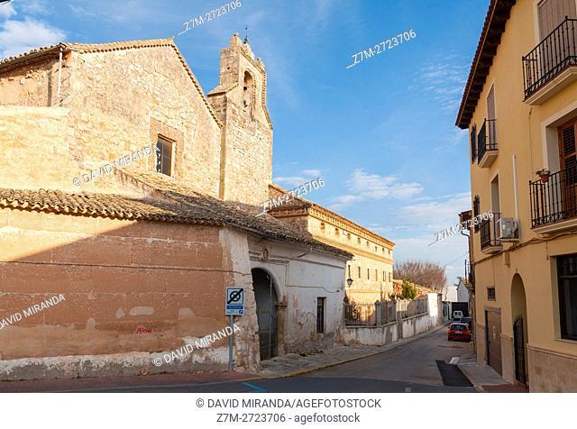 Monasterio de Nuestra Señora de Gracia Monastery, San Clemente, Cuenca province, Castile la Mancha, Spain. Historic and Artistic Heritage