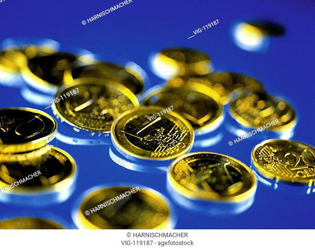Euro coins.  - 27/10/2005