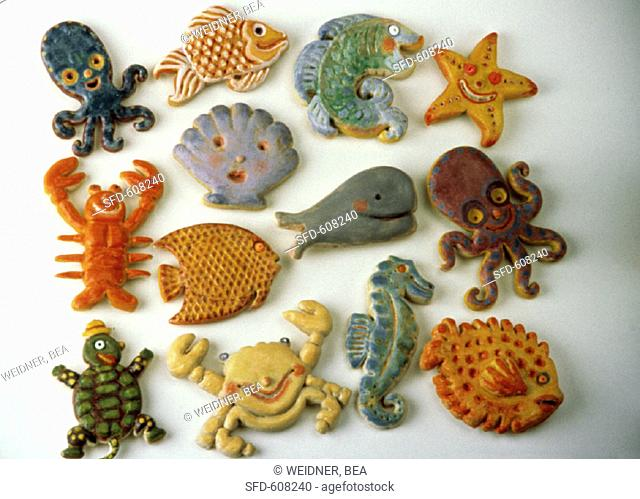 Animals from the Sea, Bread Sculptures