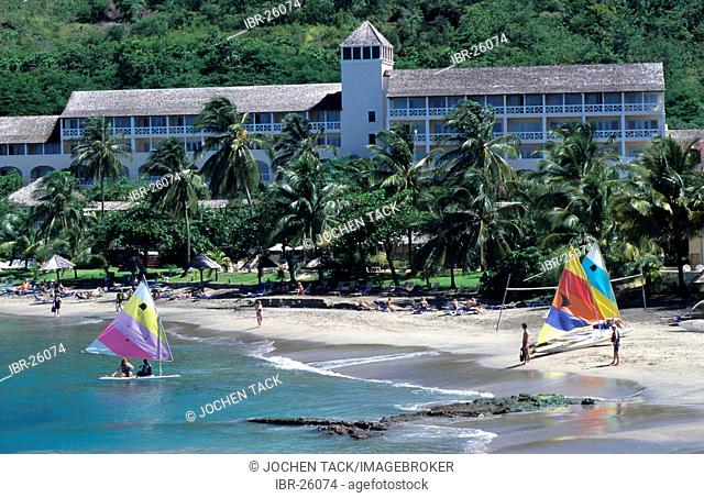 LCA, Saint Lucia: the Le Sport hotel in the northeast of the island, wellness and luxury