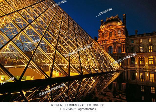 Le Louvre. Paris. France
