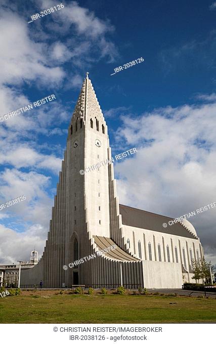 Hallgrímskirkja, Hallgrímur church, Reykjavik, Iceland, Europe