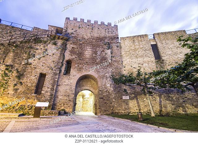 Buitrago del Lozoya is a walled village in Madrid province Spain