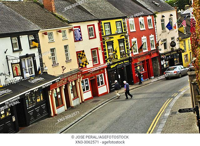 High St, Street, Kilkenny town, County Kilkenny, province of Leinster, Ireland, Europe