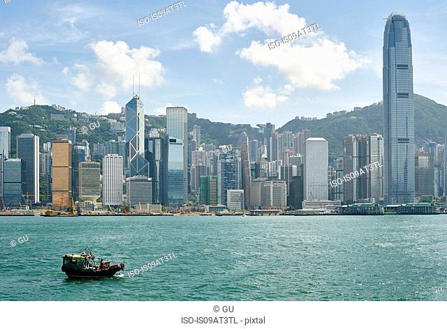 Victoria harbour, Tsim Sha Tsui, Hong Kong