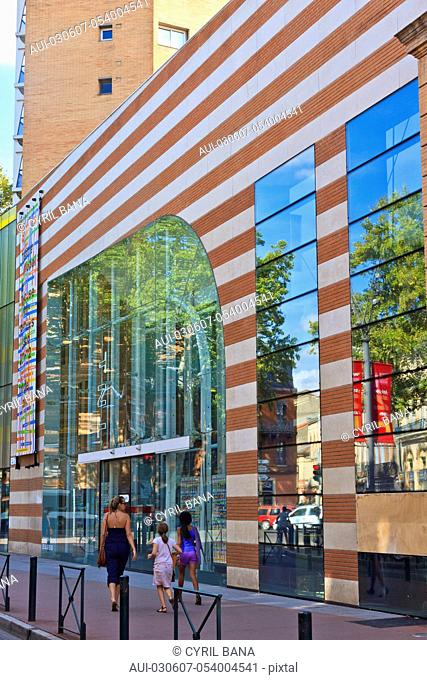France, Toulouse, National Theater, [glazed building]