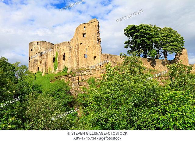 Barnard Castle, Teesdale, County Durham, England, UK