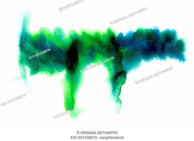 Abstract water colorful painting. Pastel color illustration concept
