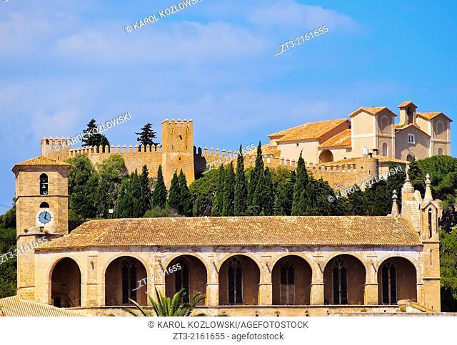 View of Arta on Mallorca, Balearic Islands, Spain