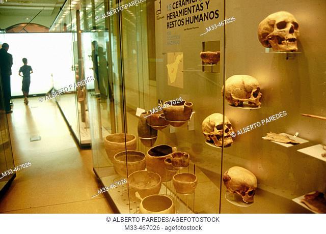 Museo de la Naturaleza y el Hombre. Santa Cruz de Tenerife. Canary Islands. Spain