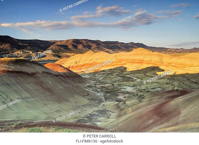 Sunset on the Painted Hills unit of the John Day Fossil Beds National Monument, Oregon