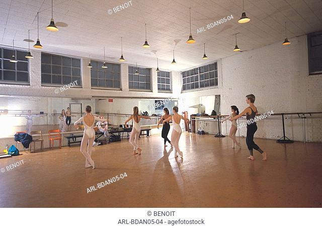 Belgium,dance school