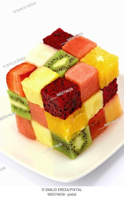 Fruit cube