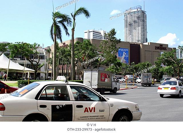 Shopping area at Ayala Center, Makati, Philippines