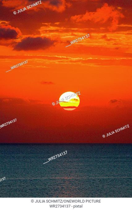 Tanzania, Zanzibar, Pemba Island, sunset