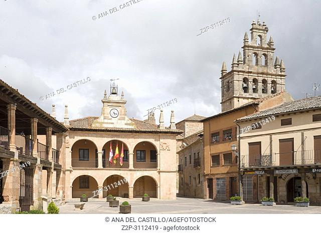 Ayllon Cradle Of The Red Villages Of Segovia Spain