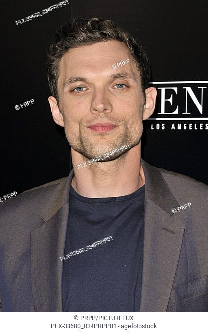 "Ed Skrein at the """"In Darkness"""" Los Angeles Premiere held at the ArcLight Hollywood in Los Angeles, CA on Wednesday, May 23, 2018"