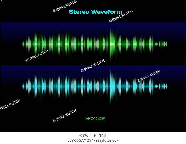 Stereo waveform