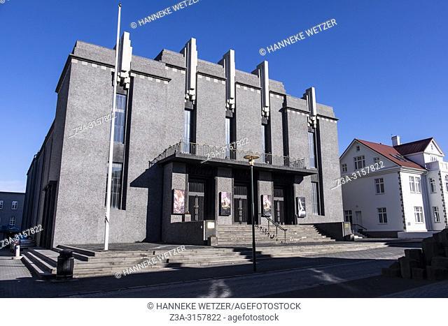 The National Theatre of Iceland, Reykjavik, Iceland