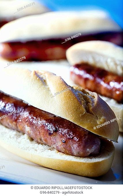 Sausage sandwiches