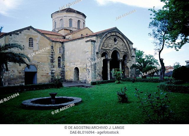 View of the Church of Hagia Sophia, Trabzon, Black Sea region, Turkey. Byzantine civilization, 13th century