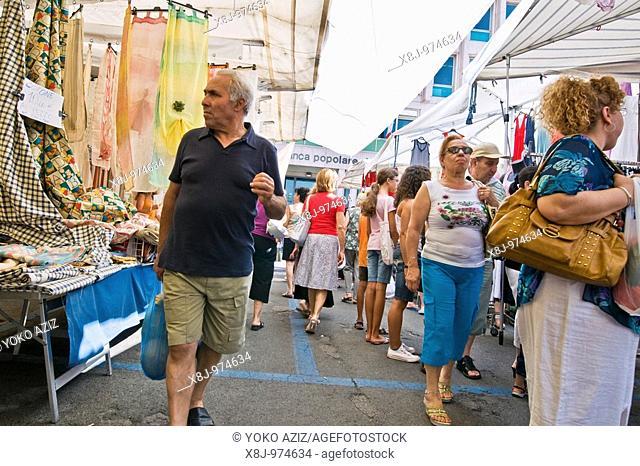 Market Friday Sassuolo - Modena, Italy