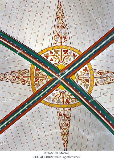 Seen a decorated painted ceiling. The construction of the church began in 1220, and it was consecrated in 1258, with the Chapter House and Cloisters completed...