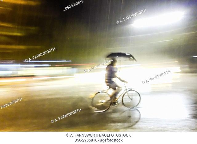 TIRANA, ALBANIA Rain, deluge