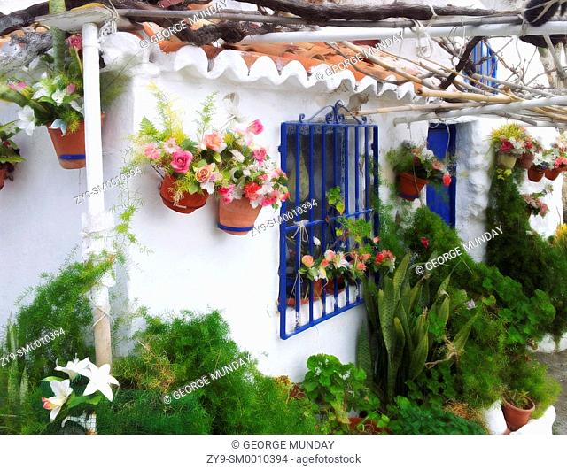 Little House on Playa Calahonda, Below the Balcón de Europe, Nerja, Malaga, Spain