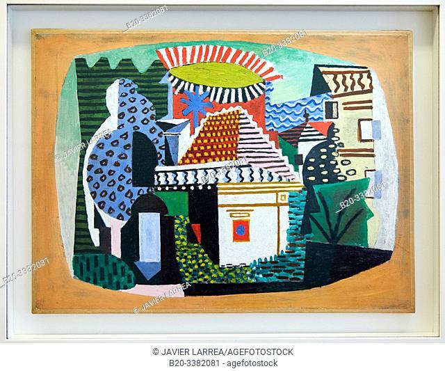 """""""Paysage de Juan-les-Pins"""", 1920, Pablo Picasso, Picasso Museum, Paris, France, Europe"""
