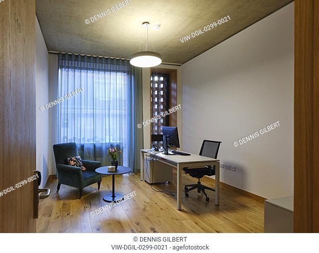 Staff office. Newnham College, Cambridge, Cambridge, United Kingdom. Architect: Walters and Cohen Ltd, 2018