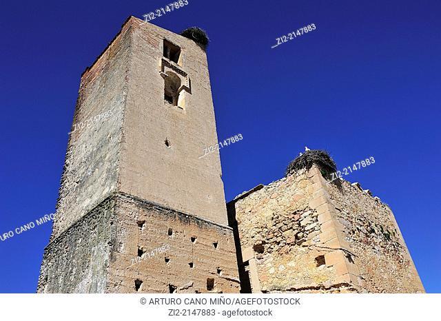 Romanesque church of Saint Mary. Pedraza, Segovia, Spain