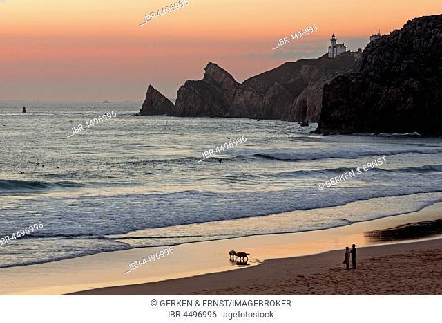 Beach Baie des Trepasses, peninsula of Cap Sizun, Finistère department, Brittany, France