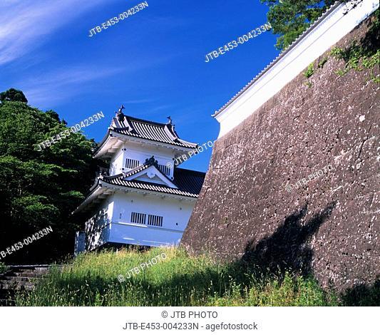 Sendai castle, Corner tower, Sendai, Miyagi, Japan