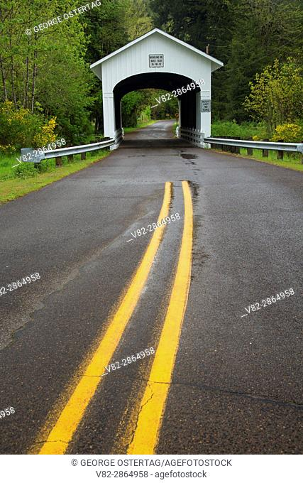 Wendling Covered Bridge, Lane County, Oregon