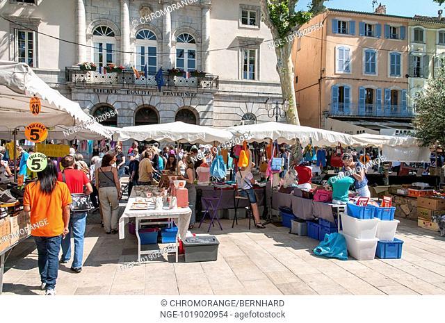 market in lorgues